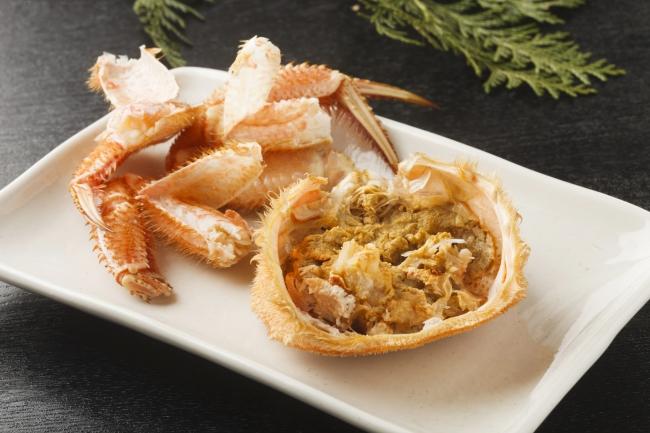 カニ味噌が一番おいしいのは毛ガニと言われます