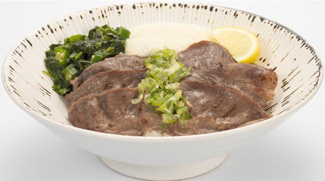 ネギの風味がきいた特製しおたれが旨味を醸す『熟成の旨しお丼』
