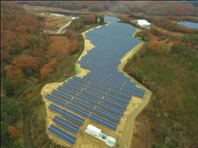 志賀町猪之谷貯水池太陽光発電所