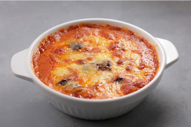 濃厚な自家製ラザニアソースが、甘みのあるもっちりとした食感のパスタによく合います。