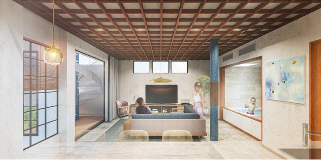 THE FLOW KAMAKURA  SORA Suite 内観イメージ