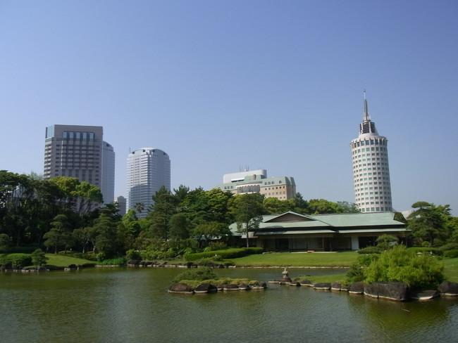 日本庭園「見浜園」
