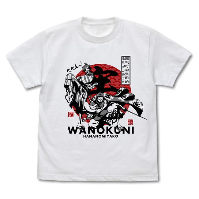 ゾロ十郎&サン五郎 Tシャツ/WHITE