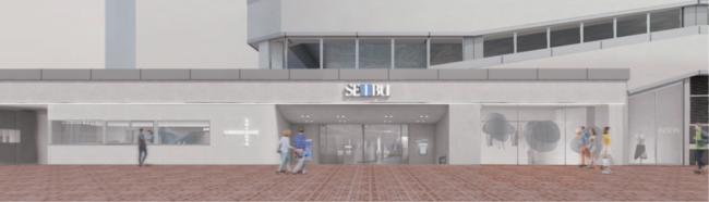 CHOOSEBASE SHIBUYA 外観 ・入口 イメージ図