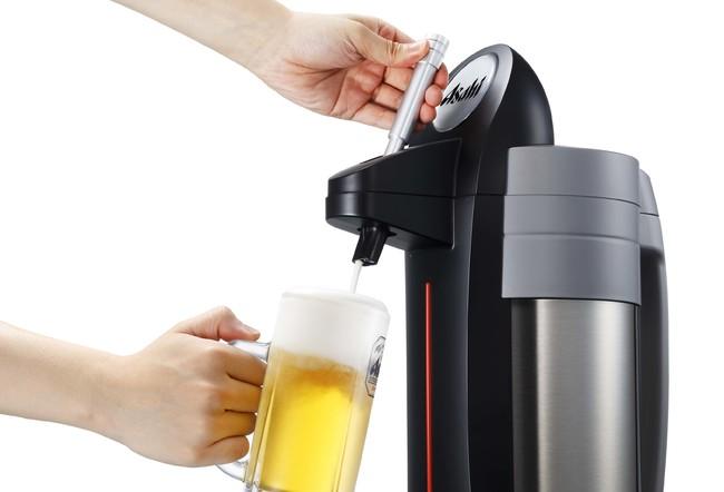 ビールサーバー(2.5L)をお部屋にご用意