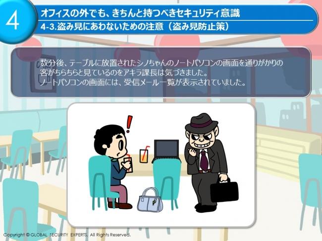 Mina Secure教育コンテンツイメージ1
