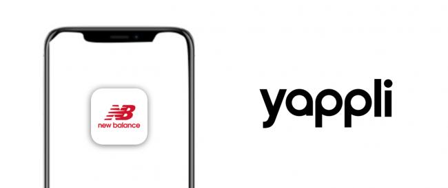 アプリ開発クラウド「Yappli」AR機能をリリース~ニューバランス公式アプリにて実装~