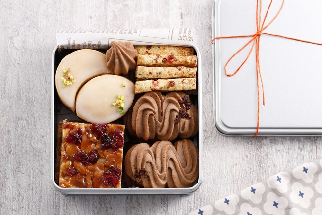 クッキー缶(焼き菓子4種)
