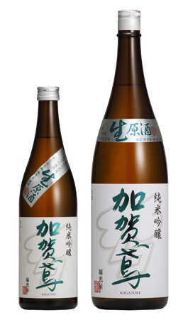 加賀鳶 純米吟醸 生原酒(720㎖・1,800㎖)