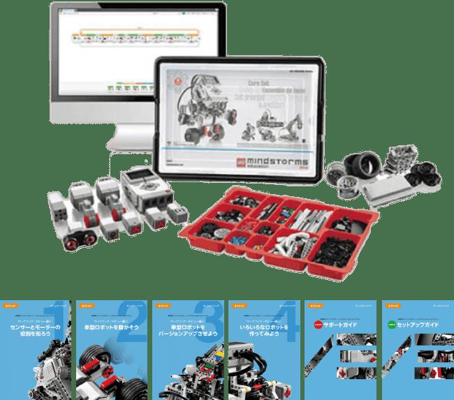 教育版レゴⓇ マインドストーム® EV3 for home by アフレル デビューセット