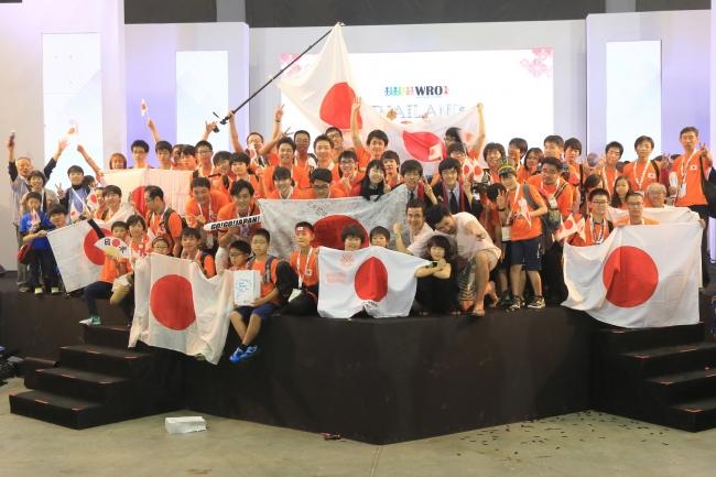 WRO2018日本代表選手団