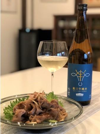 能登牛とのマリアージュにこだわった日本酒「竹葉 能登牛純米」