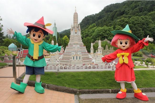 東武ワールドスクウェア トム&マイム