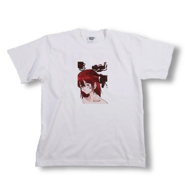 T-shirts white omote