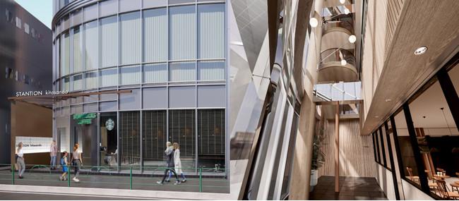 西松建設とリアルゲイト初の協働プロジェクト 北参道駅直結ビルをフレキシブルなクリエイティブオフィスにリノベーション