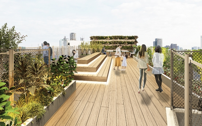 ROOFTOP TERRASE