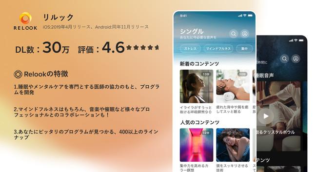 「Relook(リルック)」アプリ特徴