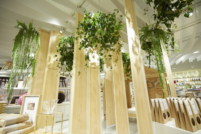 parkERs、伊勢丹新宿店の「Green tourism in Tokyo」の空間デザインを実施