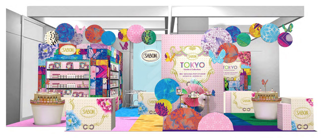 SABON TOKYO Limited Collection 銀座三越 先行販売 POP UP SHOP