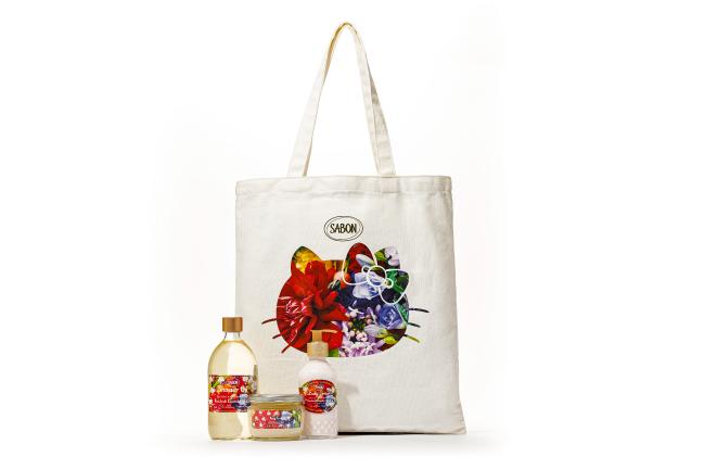 SABON「ブルーミングキット パチュリ・ラベンダー・バニラ」12,980円(税込)