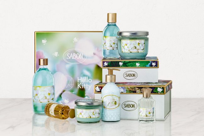 SABON『FLORAL BLOOMING Limited Collection』デリケート・ジャスミン