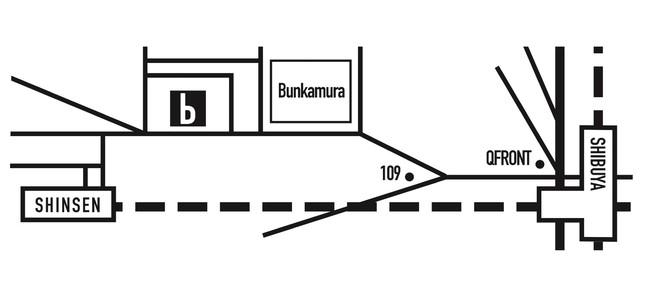 biscuit gallery 地図