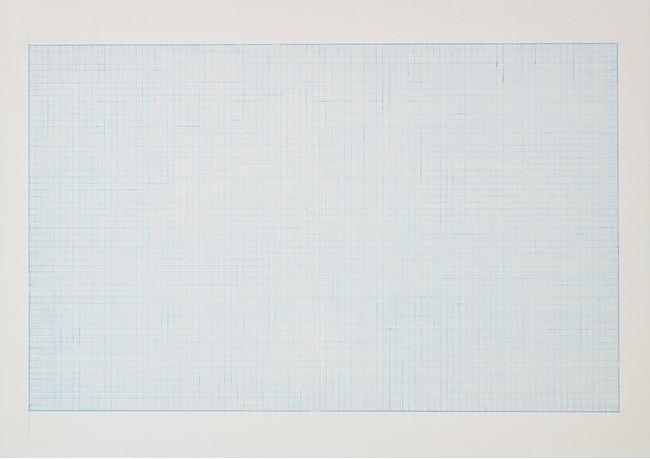 井上七海《スフ11》アクリル絵の具、綿布、パネル、515×364×30mm