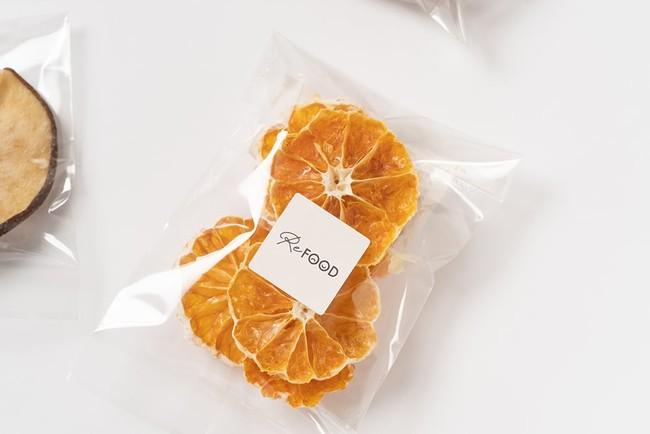 廃棄される農作物から作られたドライフルーツ「ReFOOD」