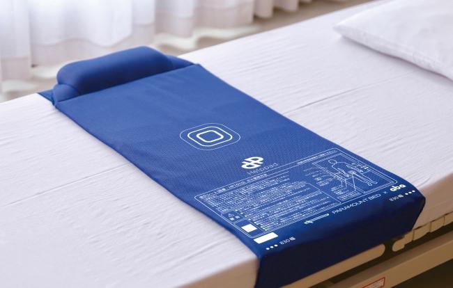abaがパラマウントベッド株式会社と共同開発した世界初の排泄センサー「Helppad」