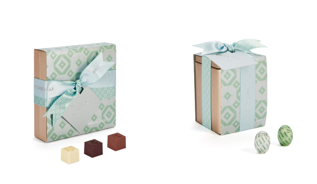 ARMANI DOLCI プラリネ 9個入 4,180円 エッグ型チョコレート 2,970円