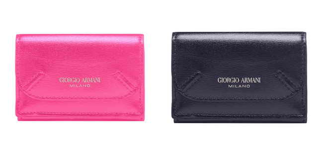 どちらもGIORGIO ARMANI 48,400円(7x9.8x3.5cm)