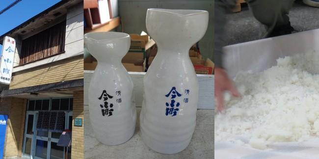 毎年11月になると兵庫県但馬より上田穰(杜氏)はじめ数人の蔵人が蔵入し、伝統の技が今小町をつくりあげます