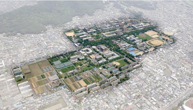 大学院教育学研究科・教育学部が所在する岡山大学津島キャンパス(岡山市北区)