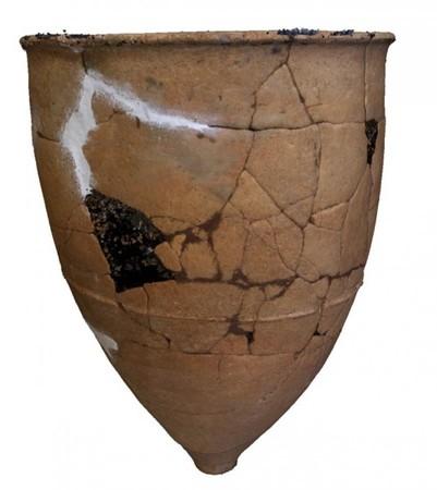 福岡県小郡市ハサコの宮遺跡出土甕棺(弥生時代中期前半)の三次元モデル