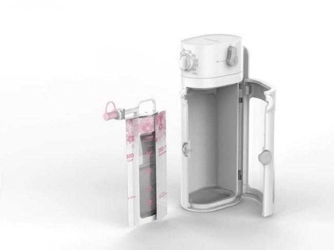販売を開始したディスポーザブルバッグを使用した壁掛吸引器「DS-1000」