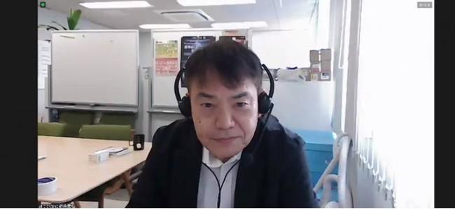 事業を紹介する藤森氏