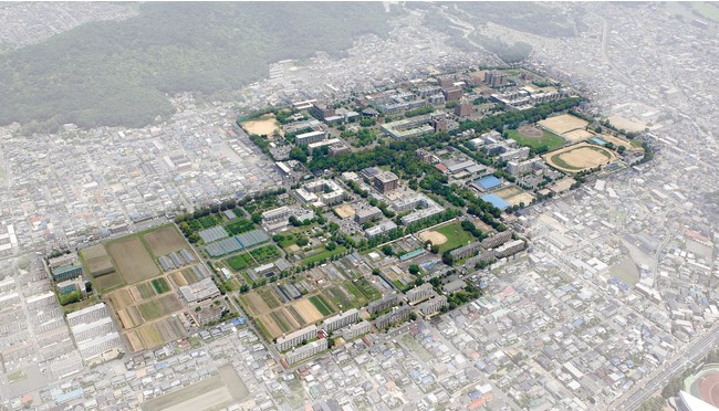 岡山大学工学部が所在する岡山大学津島キャンパス(岡山市北区)