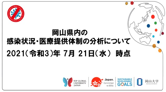 岡山県内の感染状況・医療提供体制の分析について(2021年7月21日時点)
