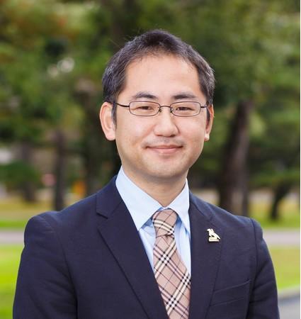 佐藤法仁副理事(研究・産学共創担当)・URA