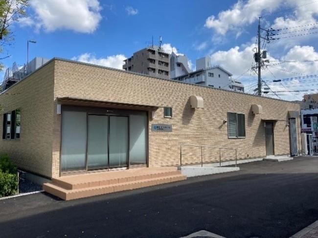 総合トリアージ・ステーションの外観(岡山大学鹿田キャンパス)