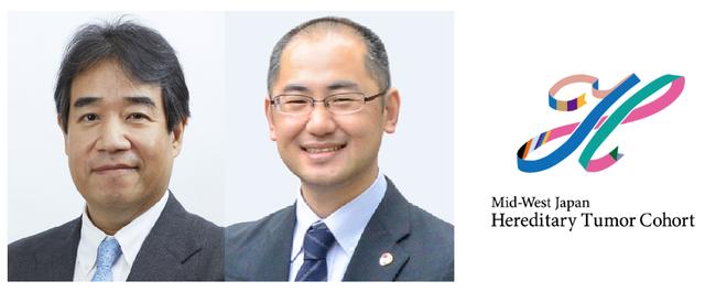 間野博行理事・研究所長・がんゲノム情報管理センター長、佐藤法仁副理事・URA