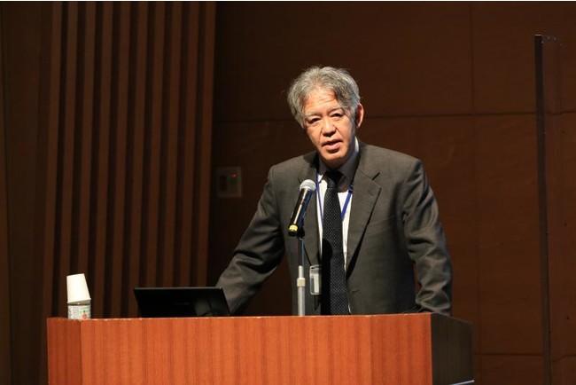 長崎大学熱帯医学研究所の山本教授による講演