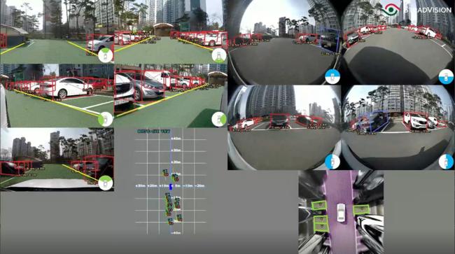 発表するSVMによる駐車スペースの自動検知