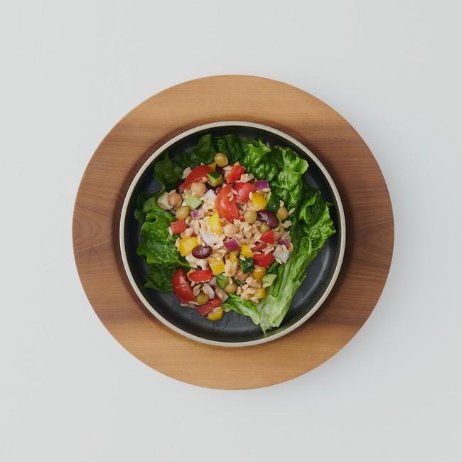 ダイズライスアレンジレシピ1.ボリュームサラダ
