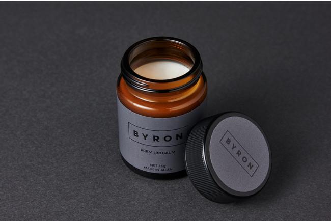 [BYRON プレミアムバームM<ヘアワックス>]髪の毛はもちろん、顏・体・唇・手に使用できる多機能バーム