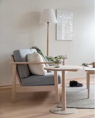 LIM Side Table & Sofa 北海道産イタヤカエデ