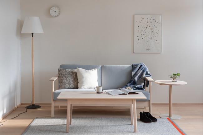 LIM Sofa & Center Table 北海道産イタヤカエデ