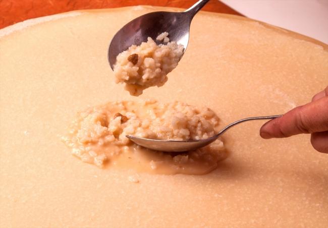 チーズ削り放題 うにチーズリゾット