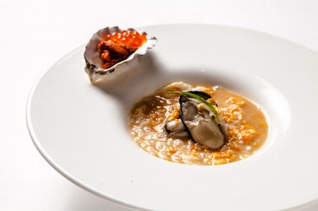 牡蠣のほっこり雑炊