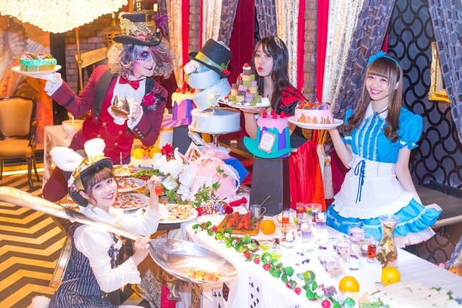 初実施 ハートの女王のお城でマジカルなスイーツたちを召し上がれ アリス のプリンセスティーパーティビュッフェ 開催 Ddホールディングスのプレスリリース